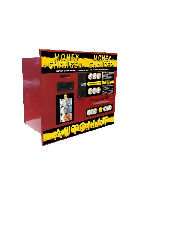 NTC-COB2400 Money changer automat